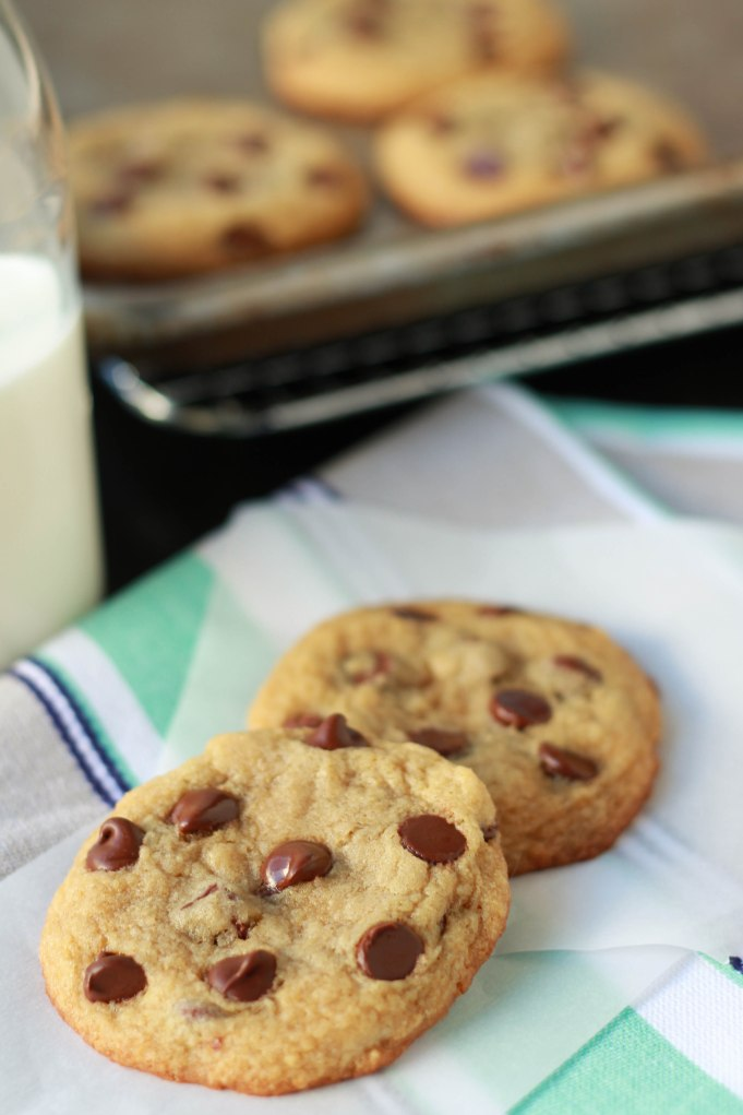 Small Batch Chocolate Chip Cookies | Celebrating Sweets